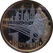 1 Ruyter - Vlissingen (400th Anniversary Michiel de Ruyter) – reverse