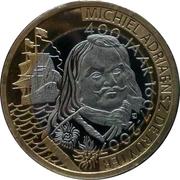 1 Ruyter - Vlissingen (400th Anniversary Michiel de Ruyter) – obverse