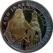 2 Ruyter - Vlissingen (400th Anniversary Michiel de Ruyter) – obverse