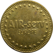 Token - Air-Serv Europe (Industrial Cleaning Equipment) – obverse