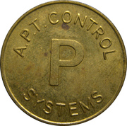 Token - A.P.T. Control Systems (25 mm) – reverse