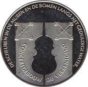"""1 Kroon - Nijmegen (2000th anniversary - Concertgebouw """"de Vereeniging"""") – obverse"""