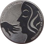 """1 Kroon - Nijmegen (2000th anniversary; """"Mariken van Nieumeghen"""") – obverse"""