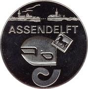 1 Zaanse Klop - Assendelft (25th anniversary of Zaanstad) – obverse