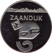 1 Zaanse Klop - Zaandijk (25th anniversary of Zaanstad) – obverse