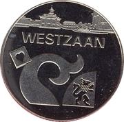 1 Zaanse Klop - Westzaan (25th anniversary of Zaanstad) – obverse