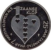 1 Zaanse Klop - Zaandam (25th anniversary of Zaanstad) – reverse