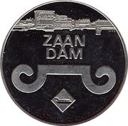 1 Zaanse Klop - Zaandam (25th anniversary of Zaanstad) – obverse
