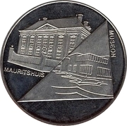1 Blufje - Den Haag (Culture Year in The Hague - Mauritshuis / Museon) – obverse
