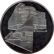 1 Blufje - Den Haag (Culture Year in The Hague - Stadhuis / NDT-RO) – obverse