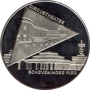 1 Blufje - Den Haag (Culture Year in The Hague - Scheveningse Pier / Circustheater) – obverse