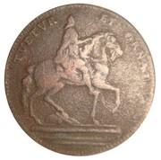 Token - Louis XIV (Ville de Paris; Tuetur et ornat) – obverse