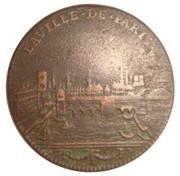 Token - Louis XIV (Ville de Paris; Tuetur et ornat) – reverse
