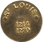 Token - St. Louis – reverse
