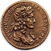 Token Collection BP - Le Trésor des Rois de France (№18 - Louis XIII Dix Louis) – obverse