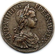 Token Collection BP - Le Trésor des Rois de France (№19 - Louis XIV) – obverse