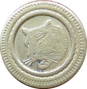 75 Centimes (Tiger) – obverse