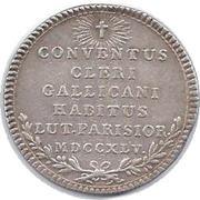 Louis XV ASSEMBLÉE DU CLERGÉ ET JETONS RELIGIEUX – reverse