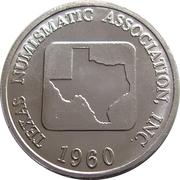 Token - Texas Numismatic Association (56th convention 2014) – reverse