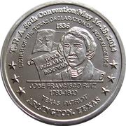 Token - Texas Numismatic Association (56th convention 2014) – obverse
