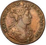 Marie-Thérèse d'Autriche - Haeret Coelo - 1678 – obverse