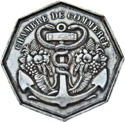 Chamber of commerce Le Havre – obverse