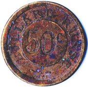 50 Centimes - Billard Russe – obverse