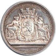 Token - Louis-Napoléon (Société de secours mutuels pour les ouvriers en soie) – reverse