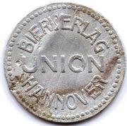 10 Pfennig Bottle Deposit - Biervlag Union (Hannover) – obverse