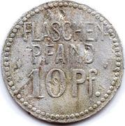 10 Pfennig Bottle Deposit - Biervlag Union (Hannover) – reverse