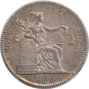 NOTAIRES DU XIXe SIECLE-Notaires d'Amiens 1816 – obverse