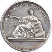 Tribunal de commerce de Lyon – obverse