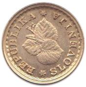 0.05 Lipe (Lipa Holding, Ljubljana Series) – obverse