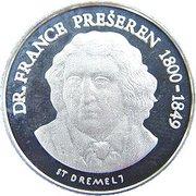1 Lipa (France Preseren - Lipa Holding, Ljubljana Series) – reverse