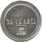 Token - 3615 ABCL (Crédit Lyonnais) – obverse