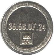 Token - 3615 ABCL (Crédit Lyonnais) – reverse