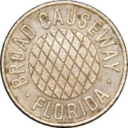 1 Fare - Broad Causeway (Bay Harbor, FL) – obverse