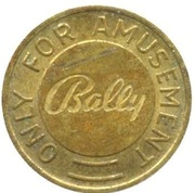 Gaming Token - Bally (Only for Amusement) – reverse