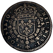 Token -  Louis XIV (Council of the King; type LOVIS) – reverse