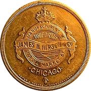 Token - Dont Worry Club (James H. Hirsch & Co., Chicago) – obverse