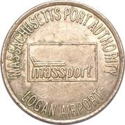 1 Fare - Massachusetts Port Authority, Logan Airport (Boston, MA) – obverse