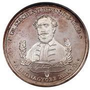 Medallion - Széchenyi István – obverse