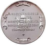 Medallion - Széchenyi István – reverse