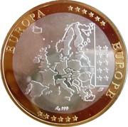 Token - European Currency (France) – reverse