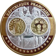 Token - European Currency (France) – obverse