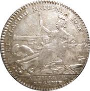 Token - Louis XV (Artillerie et Génie) – reverse