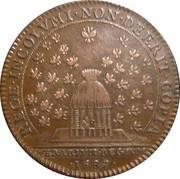 Chambre du Trésor Royal - Louis XIV – reverse
