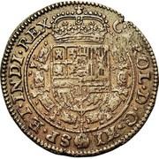 Avenement au trone de Espagne - Charles II – obverse