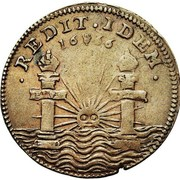 Token - Charles II (Accession to the throne of Spain) – reverse