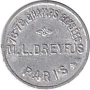 Token - M.L. Dreyfus (Paris) – obverse